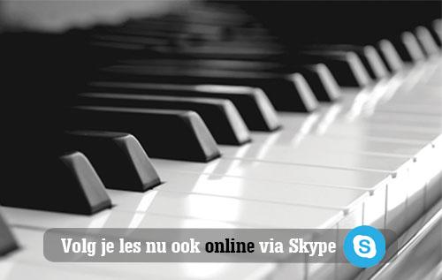 Online Muzieklessen: Volg je favoriete les vanuit huis